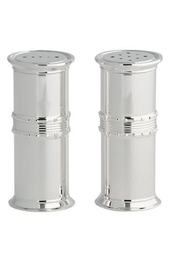 Vera Wang X Wedgwood Grosgrain Salt & Pepper Shakers, Size One Size - Metallic