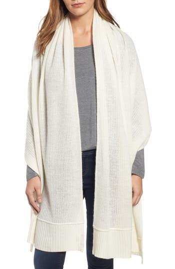 Women's Halogen Cardigan Stitch Cashmere Wrap