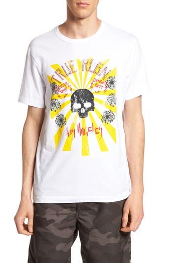 True Religion Brand Jeans Rising Sun Graphic T-Shirt, White