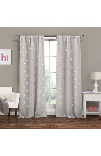 Lala + Bash Trina Blackout Window Panels, Size One Size - Grey