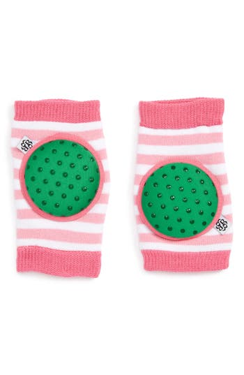 Infant Bella Tunno 'Happy Knees' Protective Knee Pads, Size One Size - Green