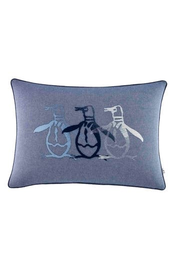 Original Penguin Brody Breakfast Accent Pillow, Size One Size - Blue