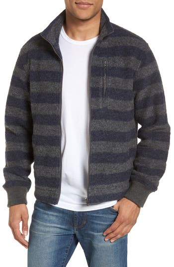 Men's Grayers Bowen Stripe Zip Front Jacket