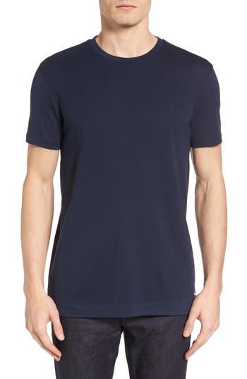 Boss Tessler Micropattern T-Shirt, Blue