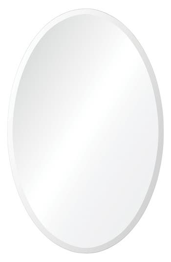 Renwil Frances Oval Mirror, Size One Size - Metallic