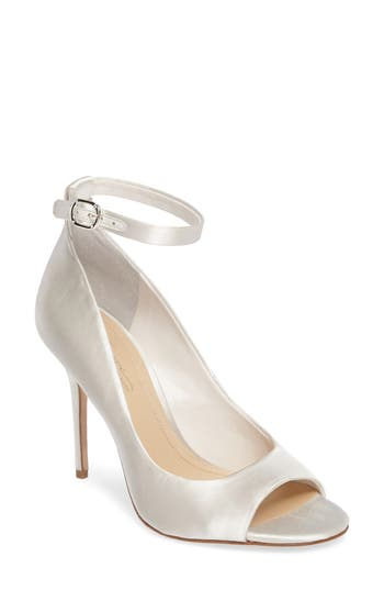 Imagine By Vince Camuto Rielly Ankle Strap Sandal, White