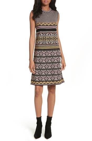 M Missoni Ribbon Knit Sheath Dress