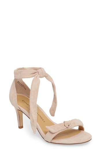 Women's Chinese Laundry Rhonda Ankle Tie Sandal, Size 6 M - Pink