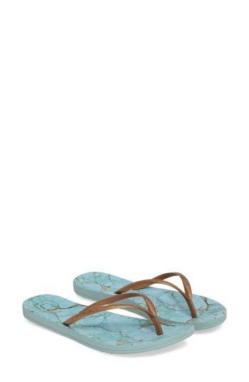 Reef Escape Flip Flop, Blue