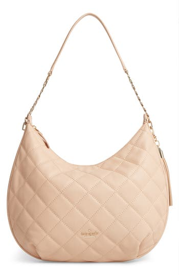 Kate Spade New York Emerson Place - Tamsin Leather Hobo - Beige at NORDSTROM.com