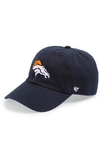 47 male mens 47 denver broncos clean up cap