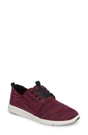 Women's Toms 'Del Ray' Sneaker, Size 5 M - Purple
