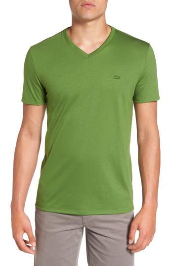 Lacoste Pima Cotton T-Shirt, Yellow