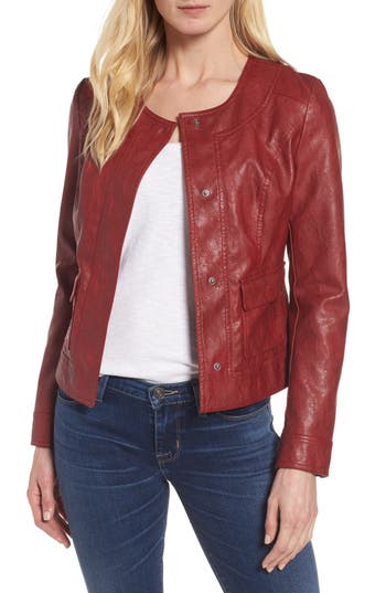 Women's Kut From The Kloth Ainsley Faux Leather Jacket
