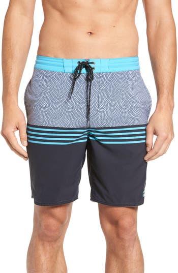 Big & Tall Billabong Fifty50 Lo Tide Board Shorts, Black