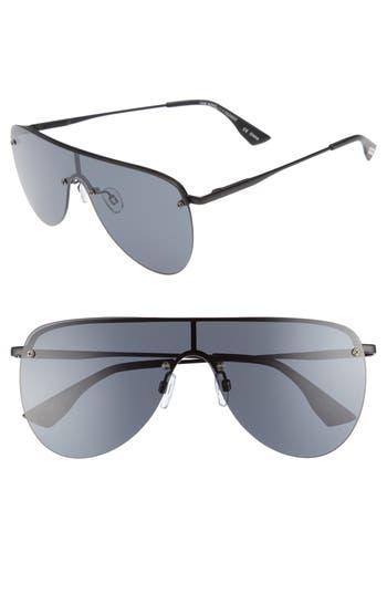 Le Specs The King 5m Shield Sunglasses - Matte Black