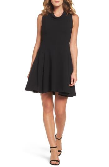 Taylor Dresses Fit & Flare Dress, Black