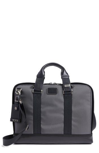 Tumi Alpha Bravo Andrews Slim Briefcase - Grey