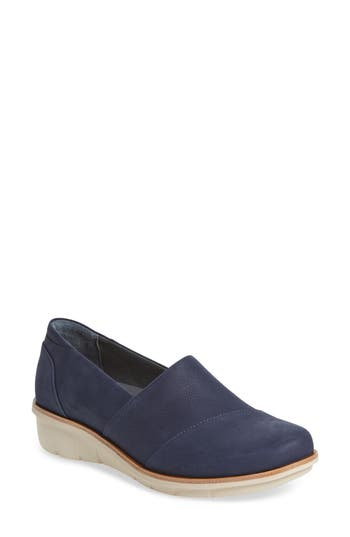 Dankso Julia Wedge Slip-On-7- Blue