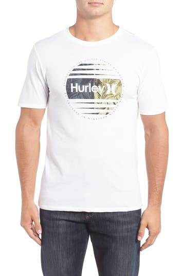 Hurley Global Graphic Dri-Fit T-Shirt, White