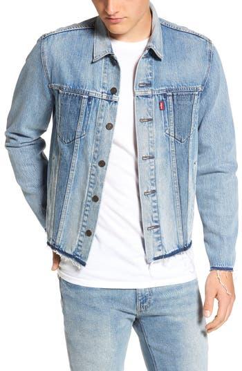 Men's Levi's Altered Distressed Denim Trucker Jacket