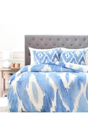 Deny Designs Painterly Ikat Duvet Cover & Sham Set