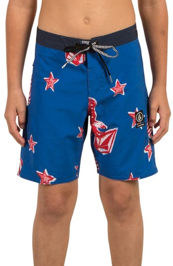 Boys Volcom Freedom Swim Trunks