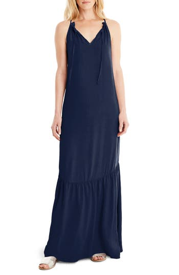 Michael Stars Maxi Slipdress, Blue
