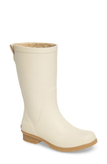 Chooka Bainbridge Rain Boot, Ivory
