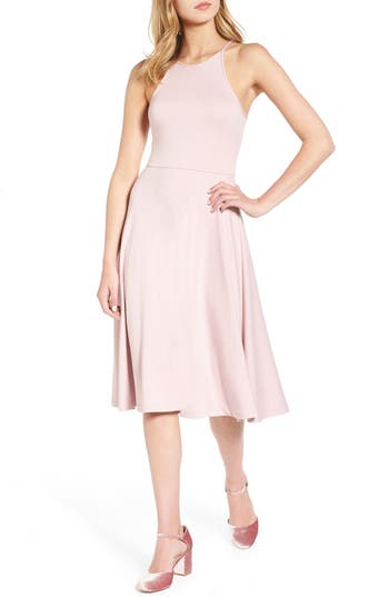 Women's Soprano Knit Midi Dress, Size X-Small - Pink