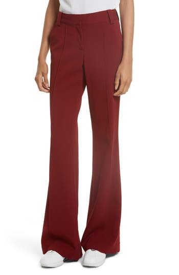 A.l.c. Lawrence Flare Pants, Red