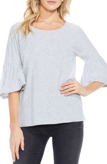 Women's Two By Vince Camuto Relaxed Bell Sleeve Cotton Tee