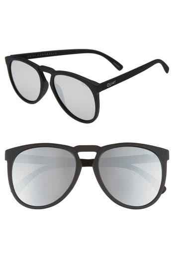 Quay Australia Phd 5m Sunglasses - Black/ Silver