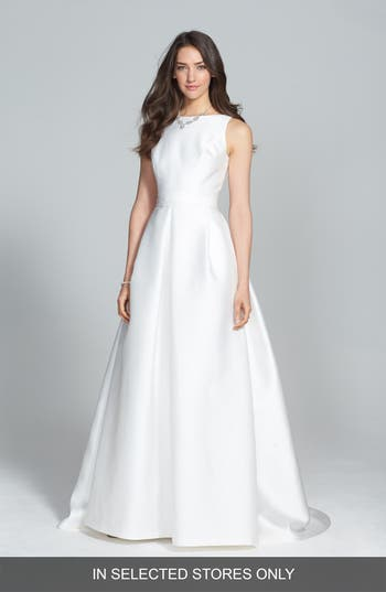 Jesus Peiro Mikado A-Line Dress