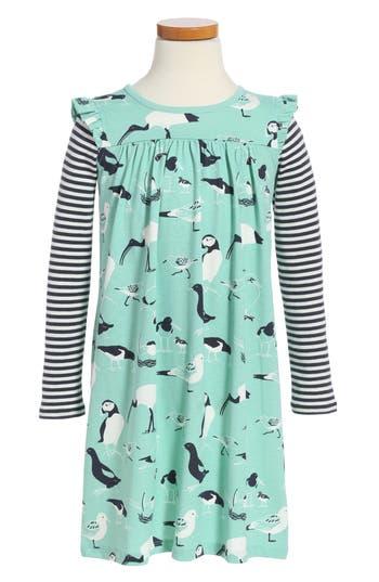 Girl's Tea Collection Seabirds Print Dress