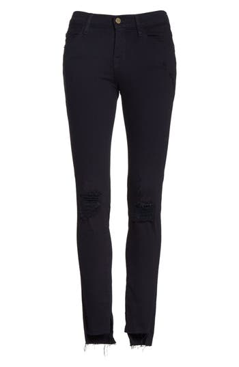 Women's Frame Le Skinny De Jeanne Raw Stagger Hem Jeans at NORDSTROM.com