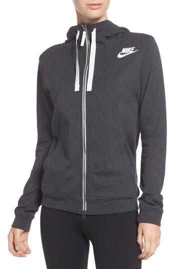 Nike Gym Zip Hoodie, Black