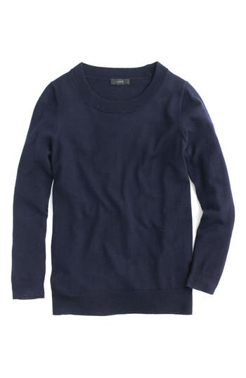 J.crew Tippi Merino Wool Sweater, Blue