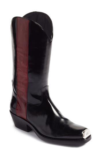 Calvin Klein 205W39Nyc Ellie Western Boot, 7. - Black