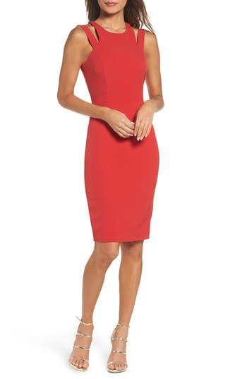 Jay By Jay Godfrey Nella Body-Con Dress, Red