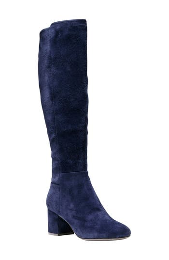 Cole Haan Lyric Knee-High Boot, Blue