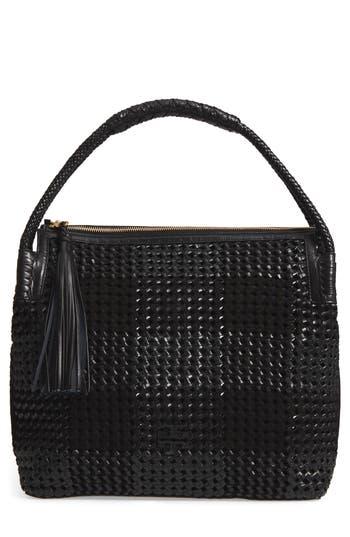 Tory Burch Taylor Woven Leather Hobo Bag -