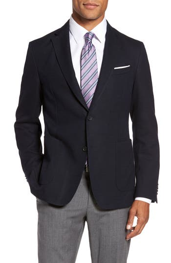 Men's Boss Jeen Trim Fit Wool Blend Sport Coat