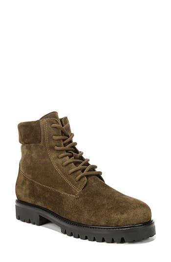 Vince Farley Platform Combat Boot, Green