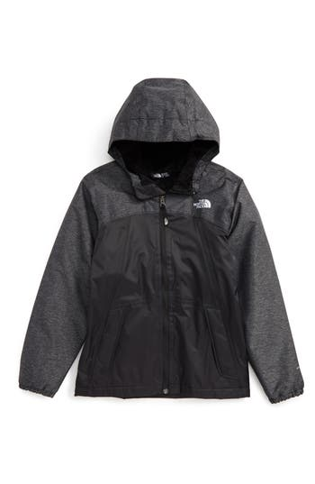 Girl's The North Face Warm Storm Hooded Waterproof Jacket