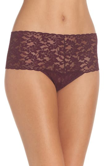 Women's Hanky Panky 'Retro' Thong, Size One Size - Purple