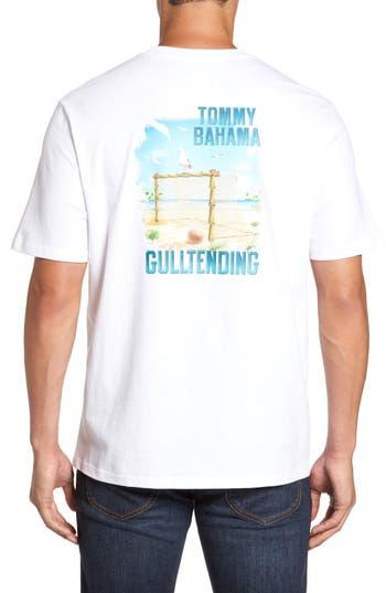 Tommy Bahama Gull Tending Standard Fit T-Shirt, White