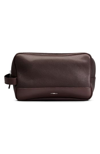 Shinola Leather Travel Kit