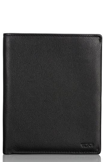 Tumi Leather Passport Case - Black