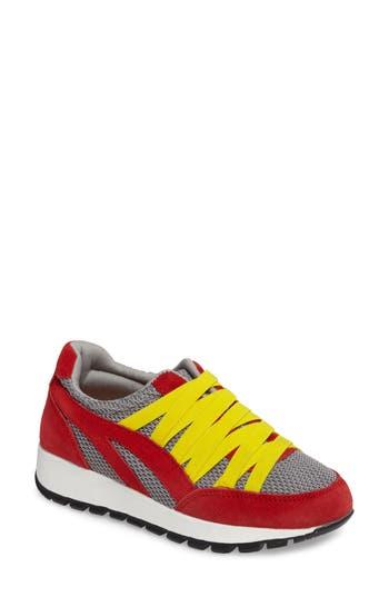 Bernie Mev Tara Cano Sneaker, Red
